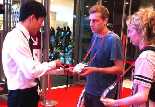 Guangzhou (Jinhan) household goods and gifts exhibition uses iData terminal for ticket check
