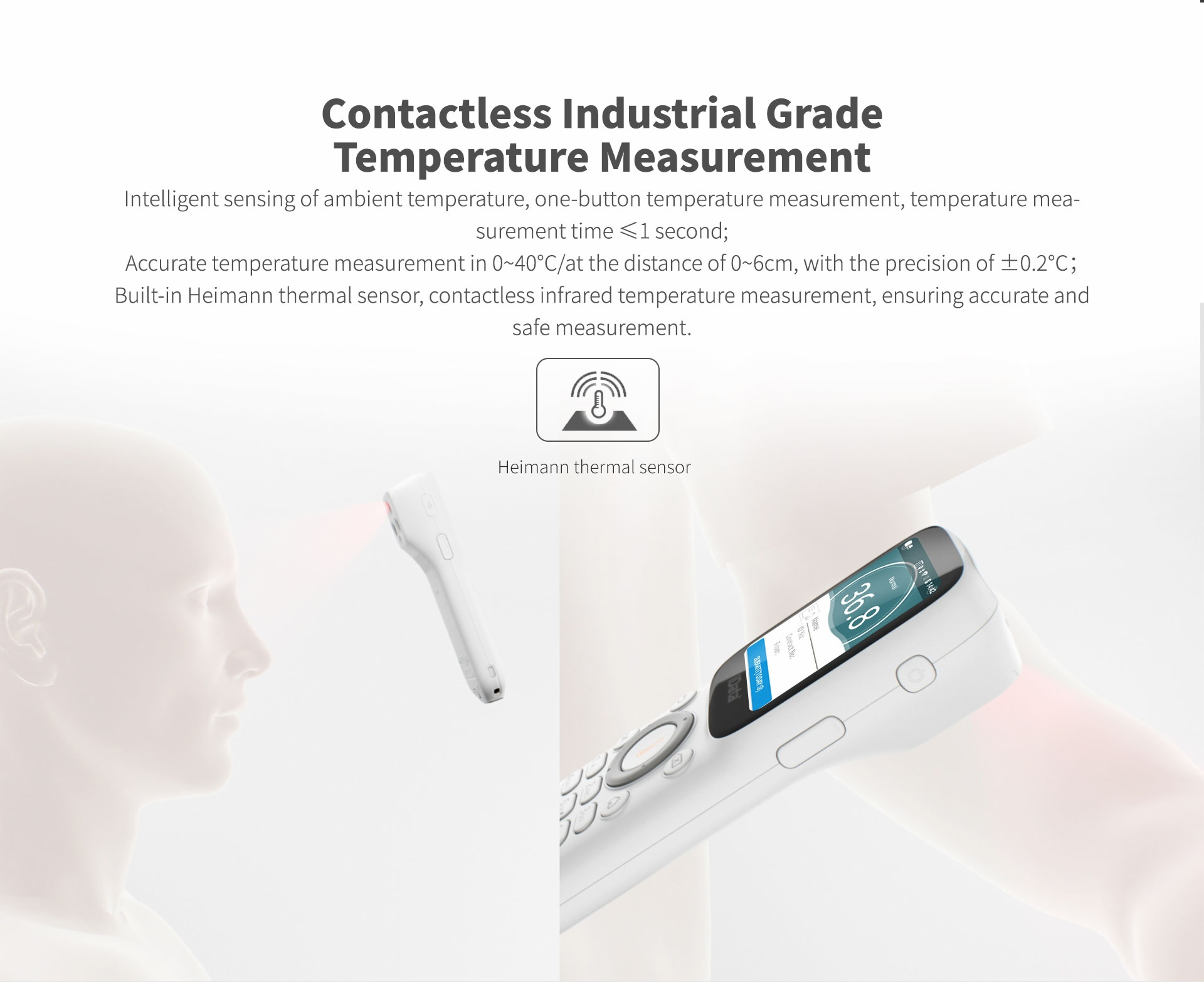 iData 25T 2-in-1 Smart Thermometer